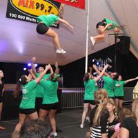 Spectacle de Jabs Cheerleading et École de danse Dan-Zaa